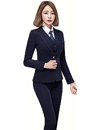 SHUNYI セットスーツ OL オフィス 就活 ビジネス 通勤 レディース セットスーツ 二点セット パンツスーツ スカートスーツ フォーマル 大きいサイズあり