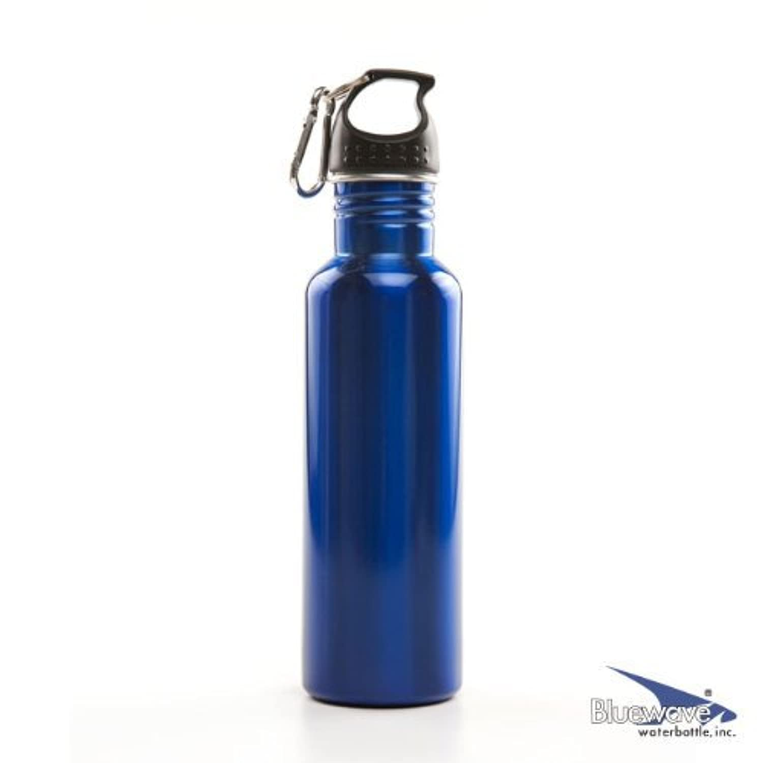 Bluewave BPA Free Stainless Steel Sports Water Bottle - 0.75 Liter (28 oz) Steel by Bluewave Lifestyle?つ?