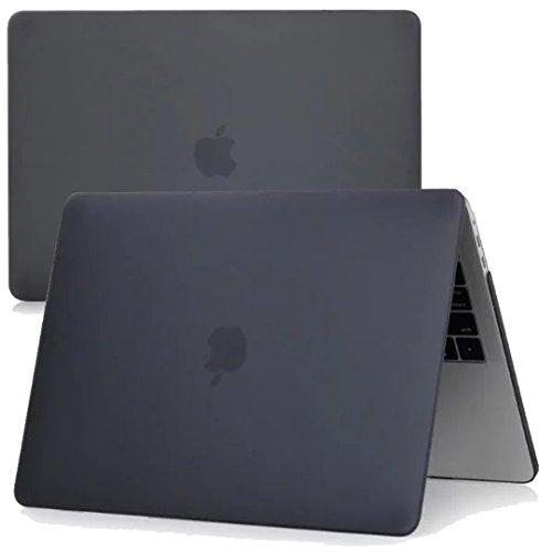 New MacBook Pro 13インチ 2016 ケース MaxKu 高品質つや消しシェルカバー 超軽量 超薄型 ハードケース 【実機確認済】 2016 New MacBook Pro 13 Touch Bar搭載A1706 / Touch BarなしA1708 多色選択可能 (ブラック)