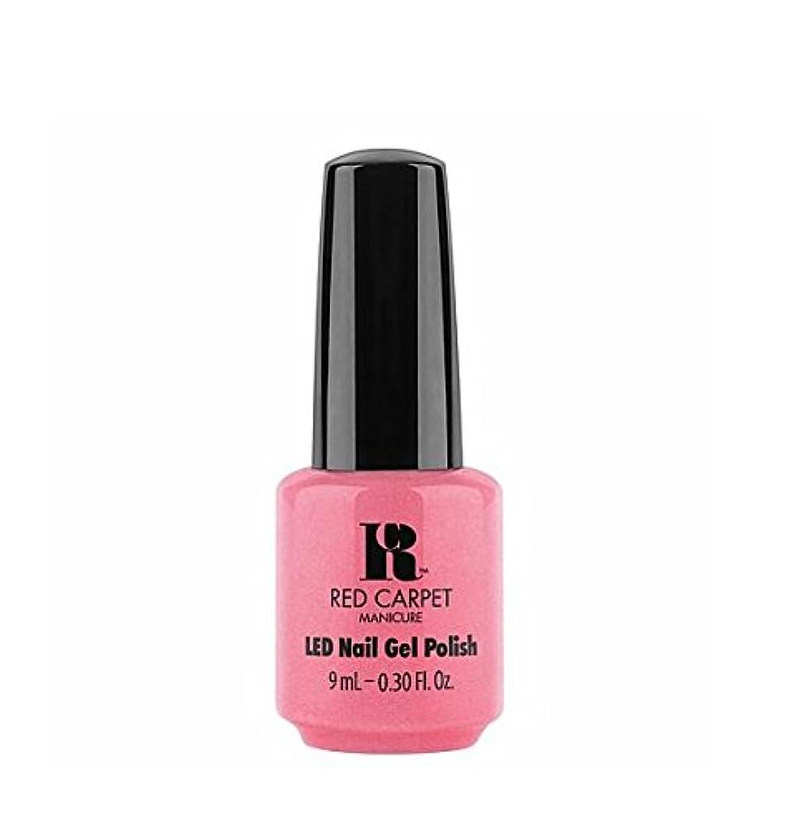 かわす中央値六Red Carpet Manicure LED Gel Polish - I Bloom Brightly - 9 ml/0.30 oz