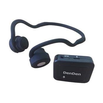 【骨伝導集音器】DenDen(デンデン)鼓膜を介さず内耳に直接音が届く クリアな音質 集音器付骨伝導ワイヤレスヘッドホン (本体)
