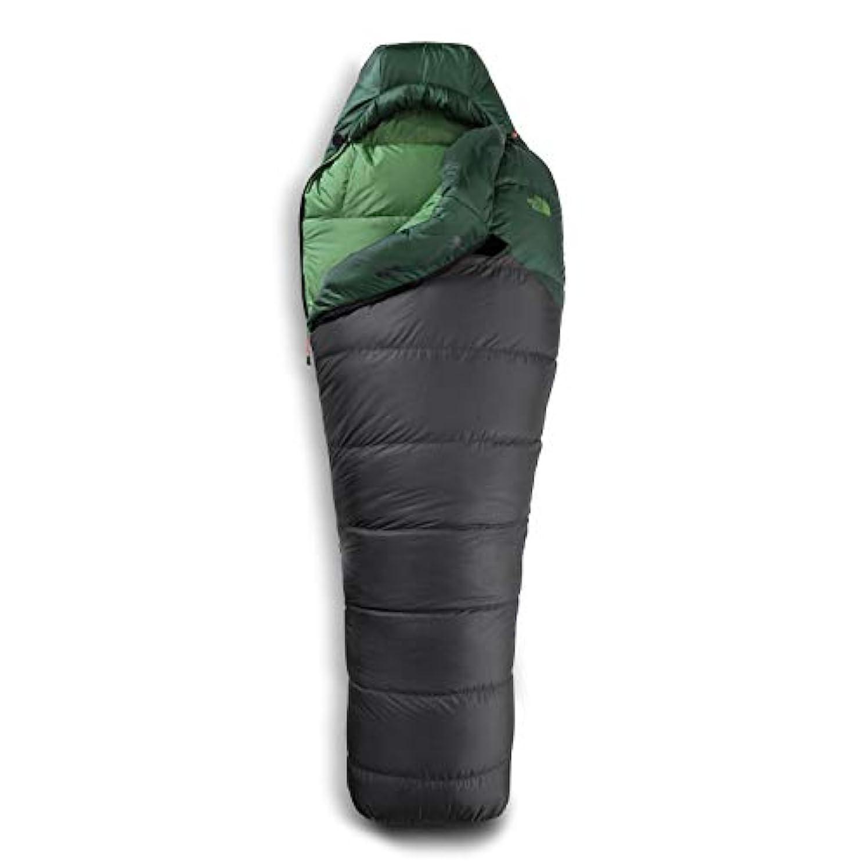 染色平日折るThe North Face Furnace 0度寝袋 レギュラー/左ジップ ダークグレー/アスファルトグレー