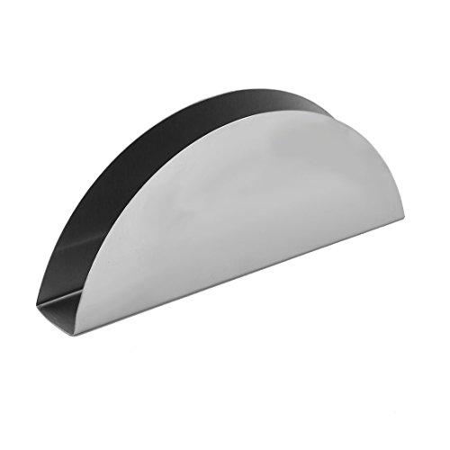 RoomClip商品情報 - uxcell ティッシュケース ティッシュホルダー メタル オーバル ホテル レストラン ナプキン ペーパー ボックス ケース