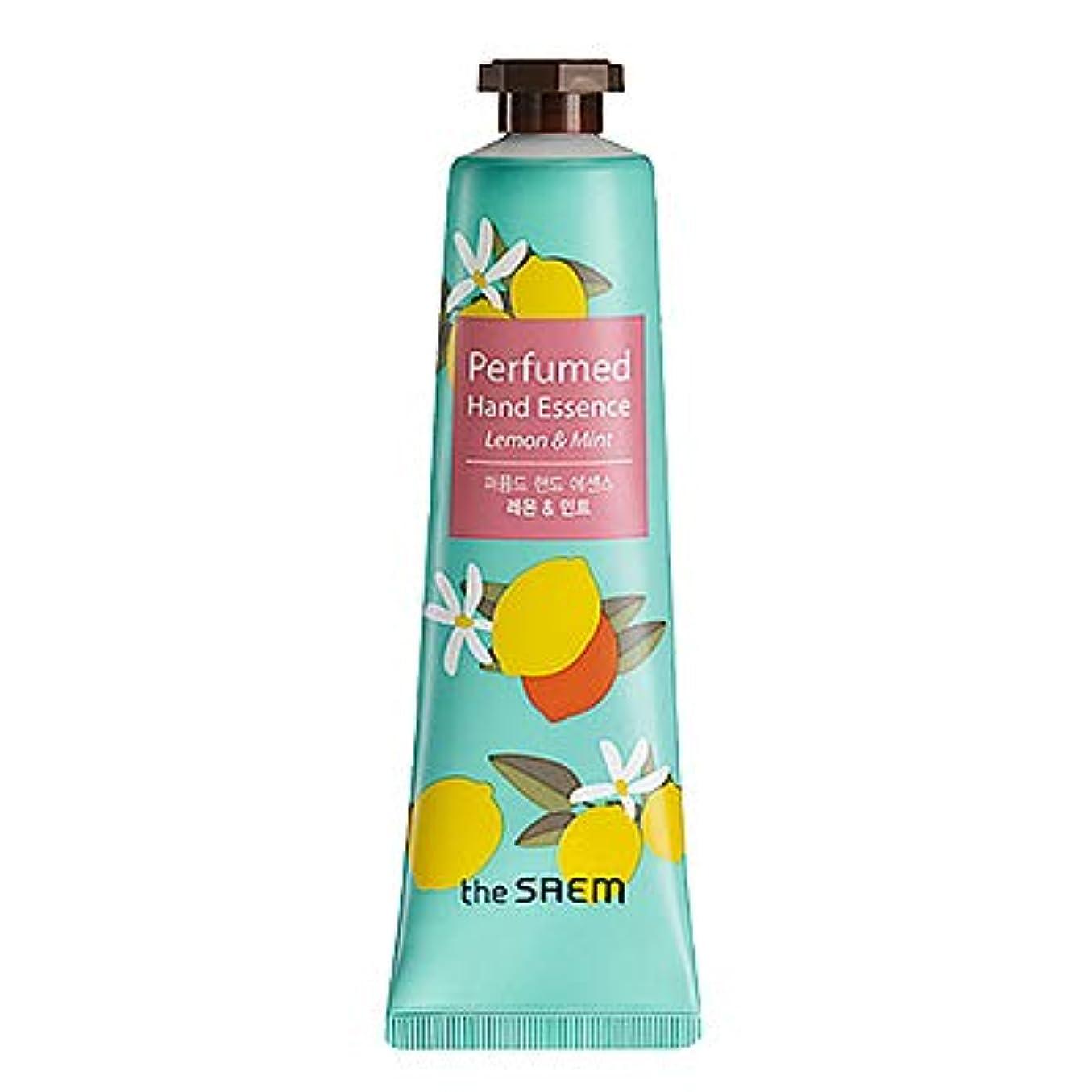 マトリックス発明するガイドラインtheSAEM ザセム パヒューム ハンド エッセンス ハンド クリーム PERFUMED HAND CREAM ESSENCE 韓国コスメ (D-Remon Mint(レモン&ミント))