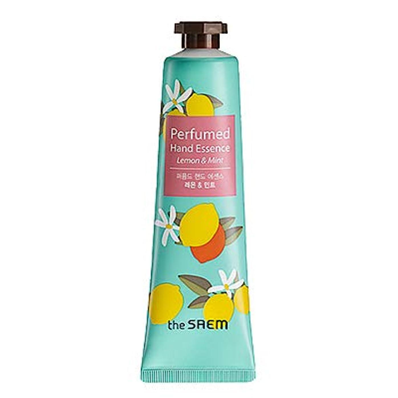 そこ本能中にtheSAEM ザセム パヒューム ハンド エッセンス ハンド クリーム PERFUMED HAND CREAM ESSENCE 韓国コスメ (D-Remon Mint(レモン&ミント))