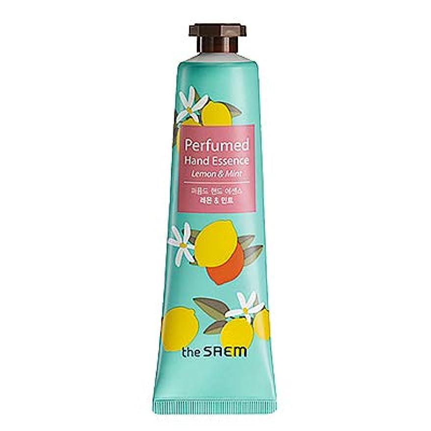 酸化するベルベットライオンtheSAEM ザセム パヒューム ハンド エッセンス ハンド クリーム PERFUMED HAND CREAM ESSENCE 韓国コスメ (D-Remon Mint(レモン&ミント))