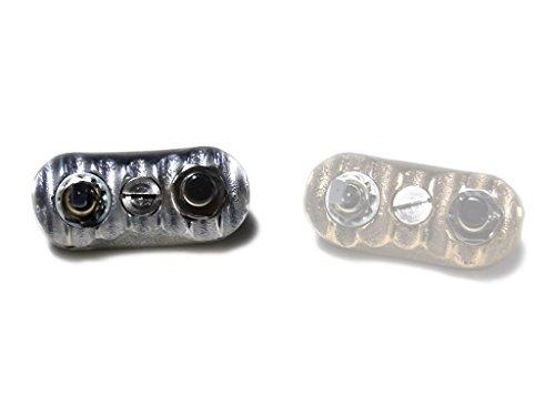 MOTOR ROCK 69スイッチ Type1 アルミ ノンポリッシュ 1インチ MR-HC012