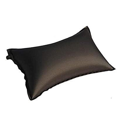 Zhuotop Outdoors Inflatable Pillow Automatic Folding Sleeping Cushion for Camping Travel Hiking Bckpacking Color Random