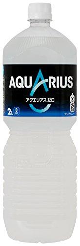 [2CS] コカ・コーラ アクエリアス ゼロ (2.0L×6本)×2箱
