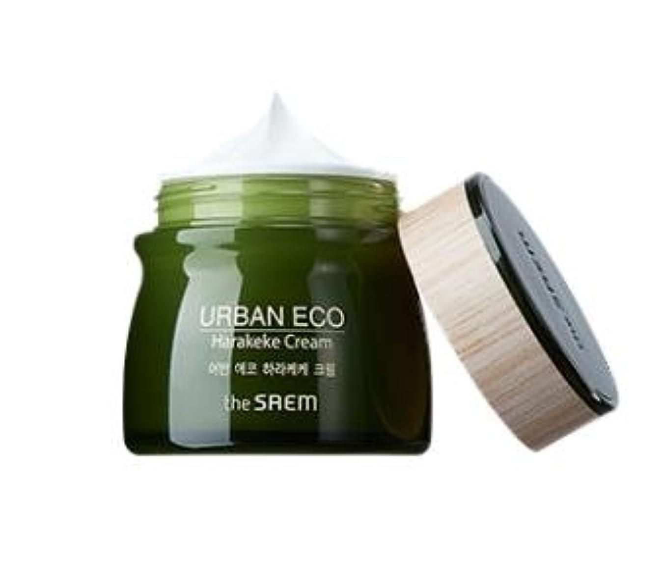 会員コードレンズ[NEW]The Saem Urban Eco Harakeke Cream ザセム アーバンエコ ハラケケクリーム [並行輸入品]