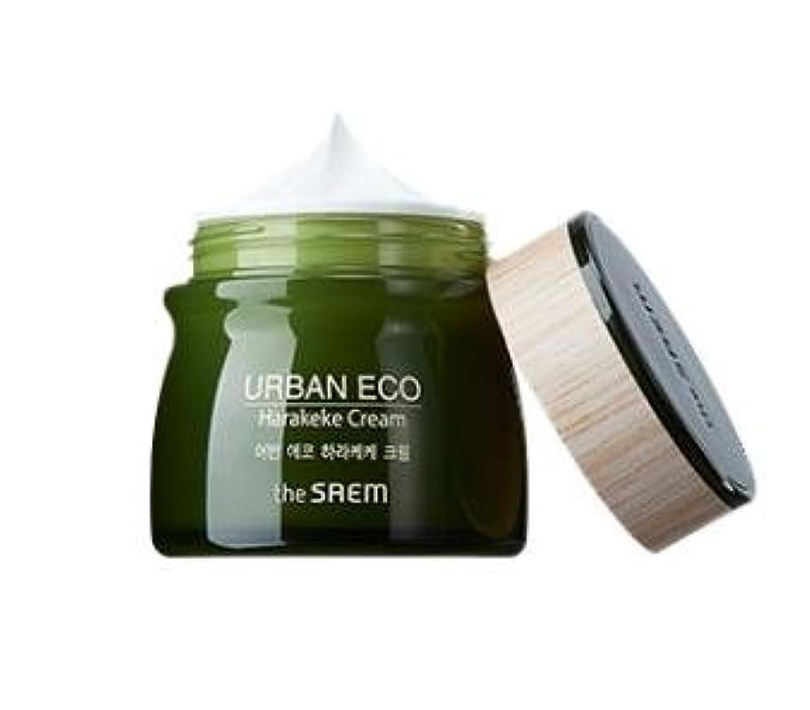 バレエより平らな胚芽[NEW]The Saem Urban Eco Harakeke Cream ザセム アーバンエコ ハラケケクリーム [並行輸入品]