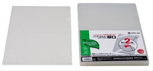 [해외]킹 짐 클리어 홀더 재활용 두께 입 A4S 735RD10 유백 parent/King Jim Clear Holder Recycle Atsugi A4S 735RD10 Milky white parent