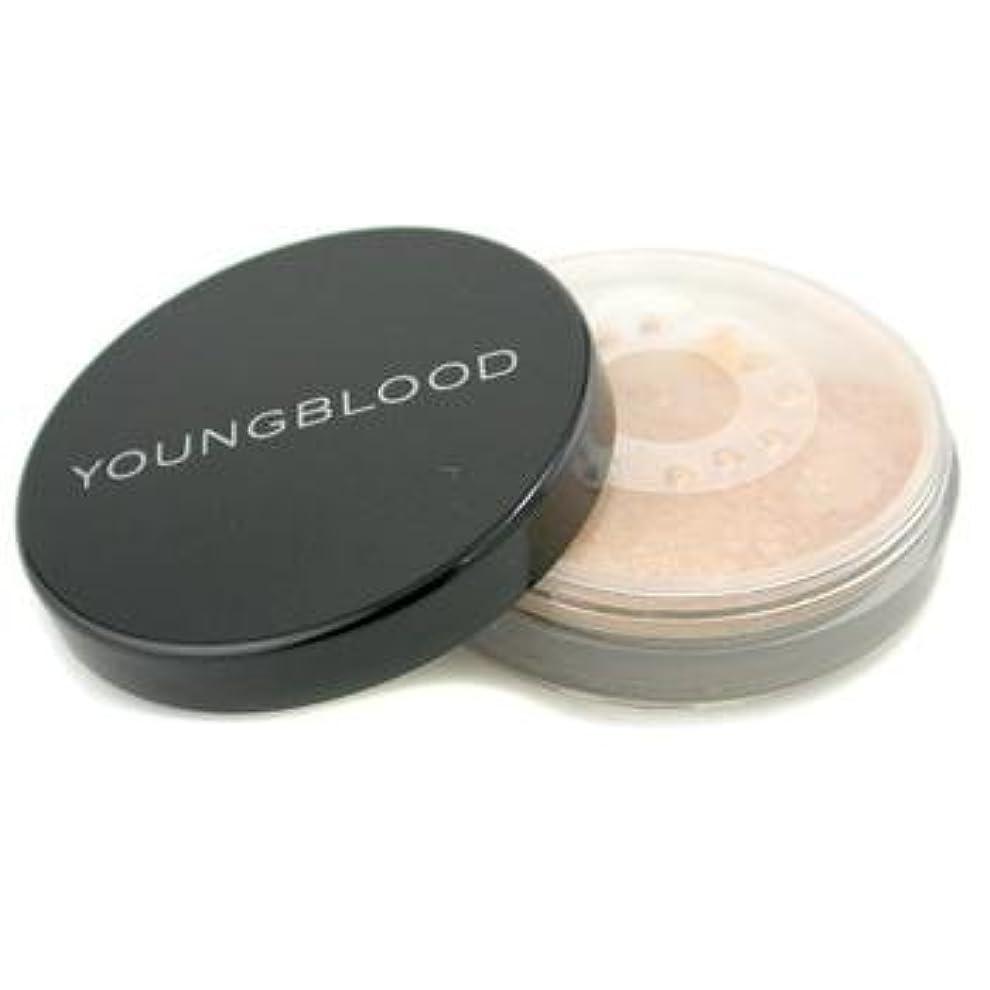 頬骨高くに賛成ヤングブラッド ミネラルパウダーファンデーション ベアリーベ-ジュ 10g YOUNG BLOOD