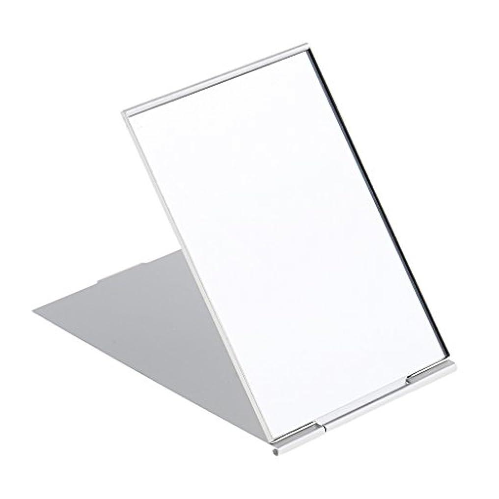 タオル憂鬱な遊びます化粧鏡 スタンド 卓上 メイクアップミラー 折り畳み式 卓上ミラー 全3サイズ - #3