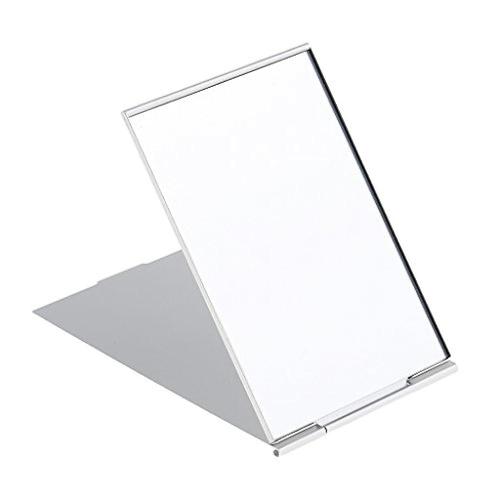 悔い改める再発する溶ける化粧鏡 スタンド 卓上 メイクアップミラー 折り畳み式 卓上ミラー 全3サイズ - #3