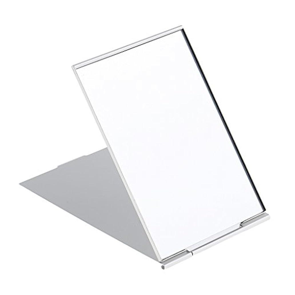 血色の良いチャペル完全に化粧鏡 スタンド 卓上 メイクアップミラー 折り畳み式 卓上ミラー 全3サイズ - #3