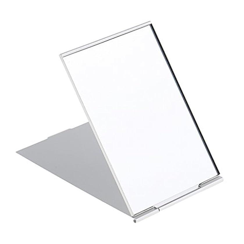 食品対勤勉化粧鏡 スタンド 卓上 メイクアップミラー 折り畳み式 卓上ミラー 全3サイズ - #3