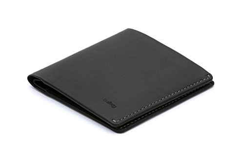 Bellroy Note Sleeve、スリムレザーウォレット、RFID選択可(カード11枚までと現金) - Black