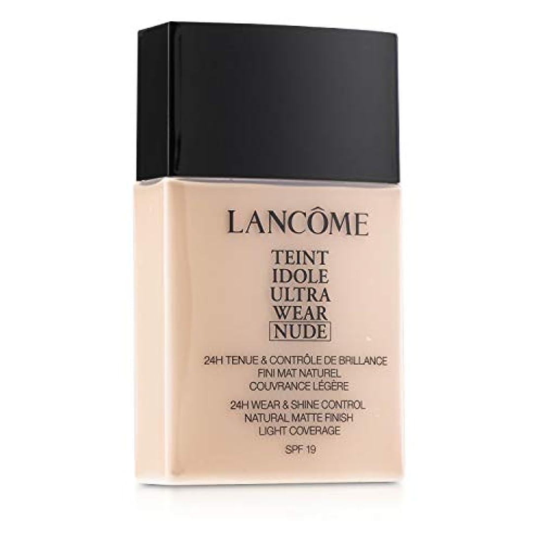 のぞき見はぁできないランコム Teint Idole Ultra Wear Nude Foundation SPF19 - # 007 Beige Rose 40ml/1.3oz並行輸入品