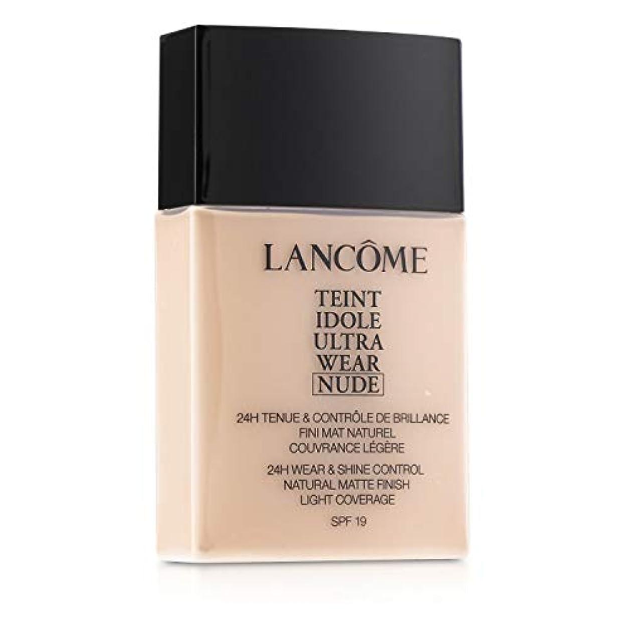 カート高さ孤独なランコム Teint Idole Ultra Wear Nude Foundation SPF19 - # 007 Beige Rose 40ml/1.3oz並行輸入品