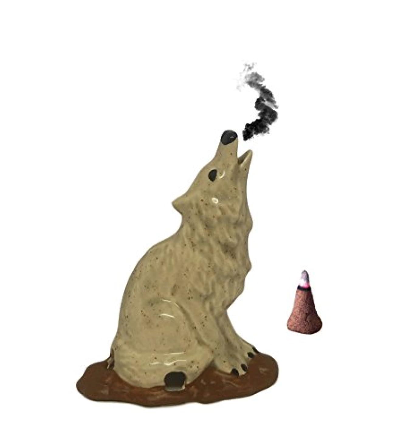 ファイアルベンチギャングスターSmall Howling Wolf Cone Incense Burner