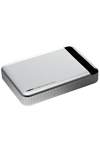 Logitec 外付けHDD ポータブルハードディスク 1TB Mac向け 耐衝撃 LHD-PBM10U3MSV