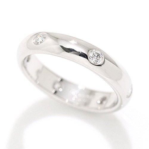カルティエ Cartier ステラ ダイヤ 6P リング #50 K18WG 18金ホワイトゴールド ダイア 指輪 【中古】 90054095