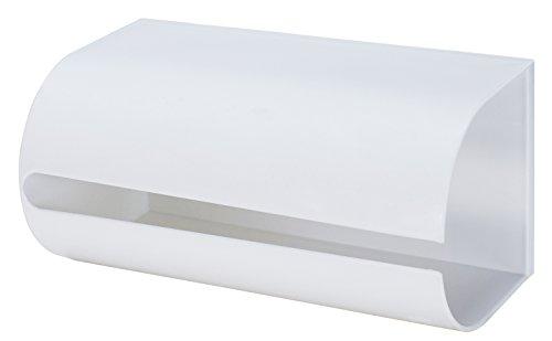 like-it ペーパーホルダー キッチンペーパーホルダー マグネット ホワイト 幅25.8x奥13.5x高12.8cm Mag-On8038