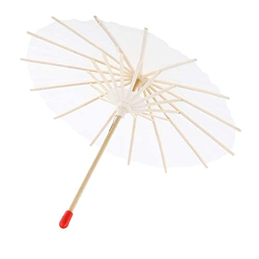 義務づける靄局P Prettyia 紙傘 ミニ 紙パラソル 和傘 踊り傘 舞踏傘 装飾傘 手作り 写真撮影 小道具 全3サイズ - 20cm
