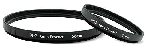 MARUMI カメラ用フィルター DHGレンズプロテクトW パック 37/58mm  セット レンズ保護用 33046