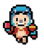 ピクセルワンピース ステッカー フランキー 新世界ver OPX017 ONE PIECE ドット絵 グッズ (ノーマル)
