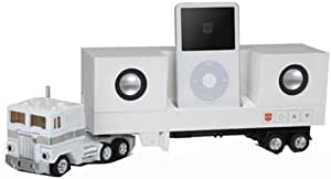 TRANSFORMERS MUSIC LABEL CONVOY playing ipod speaker