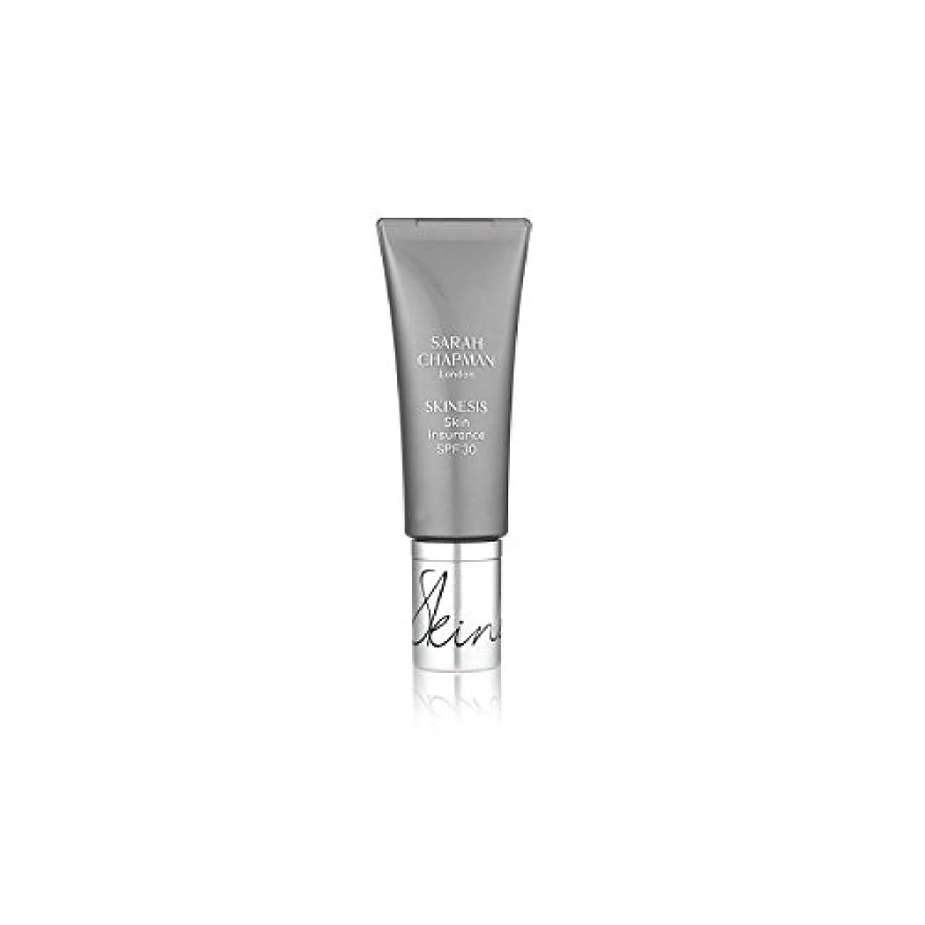 流行欠伸寄付するSarah Chapman Skinesis Skin Insurance Spf 30 (30ml) (Pack of 6) - サラ?チャップマン皮膚保険 30(30ミリリットル) x6 [並行輸入品]