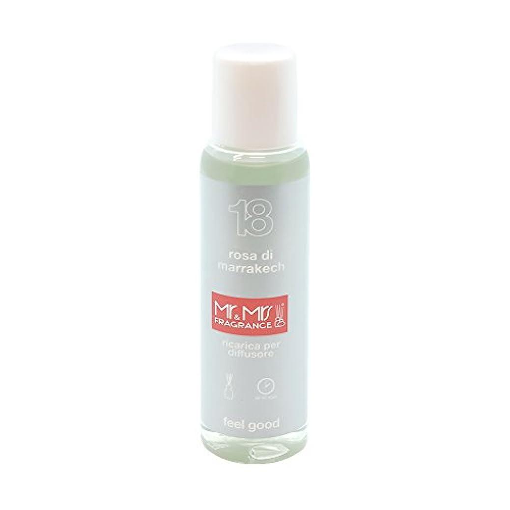 救出写真を描くマインドMr&Mrs(ミスターアンドミセス)easy fragrance 18 ローズ リフィル 100ml