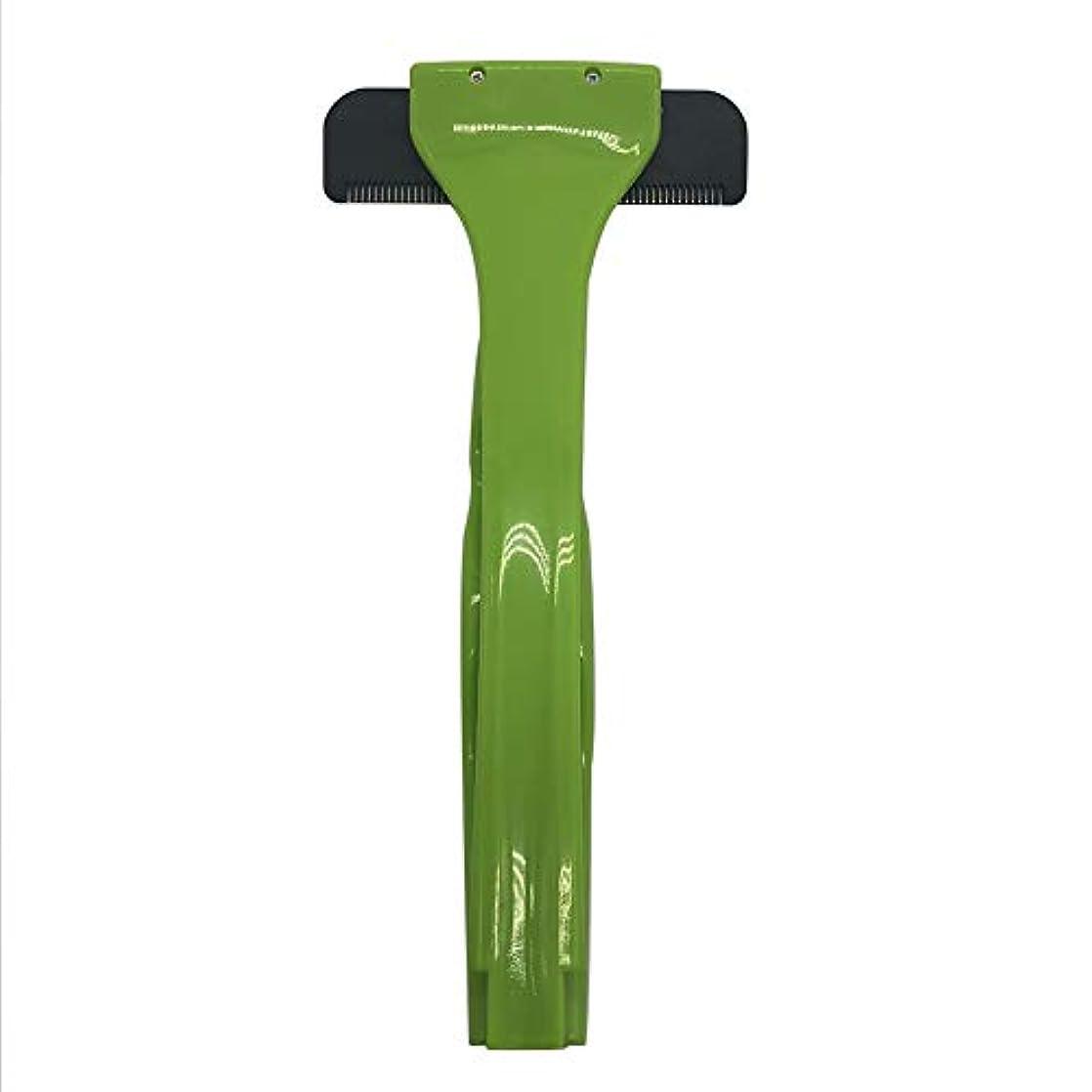 証言過激派ネストバックヘアーボディシェーバーかみそり、2019年更新バージョン拡張滑走剃刀安全スリップ防止ハンドル付きスリップ防止ハンドル
