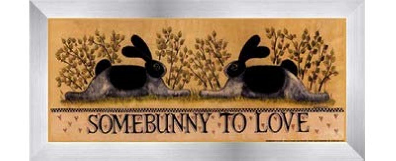 観察ショートフィヨルドsmall-somebunny to Love by Lisa Hilliker – 12 x 5インチ – アートプリントポスター LE_614045-F9935-12x5