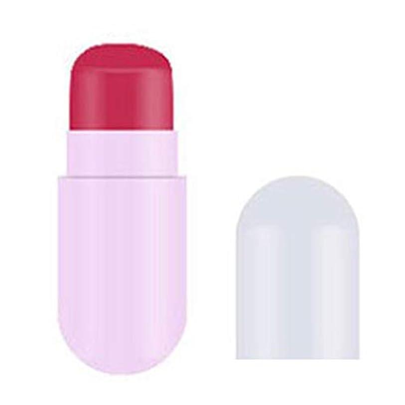 ではごきげんよう適合する複数口紅 LLuchen シングル カプセル錠剤口紅 スーパーホットセール 超良い品質と低価格 耐久性 ポータブル 可愛 魅惑的な ルージュ 花入り 色 変わる 透明 金箔付け 長続き多色3