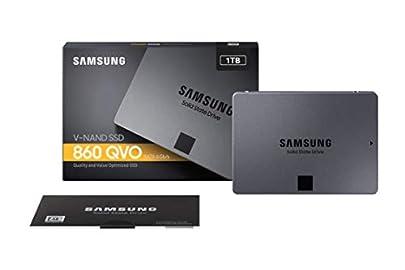 Samsung SSD 1TB 860QVO 2.5インチ内蔵型 3年保証 PS4動作確認済み 正規代理店保証品 MZ-76Q1T0B/EC