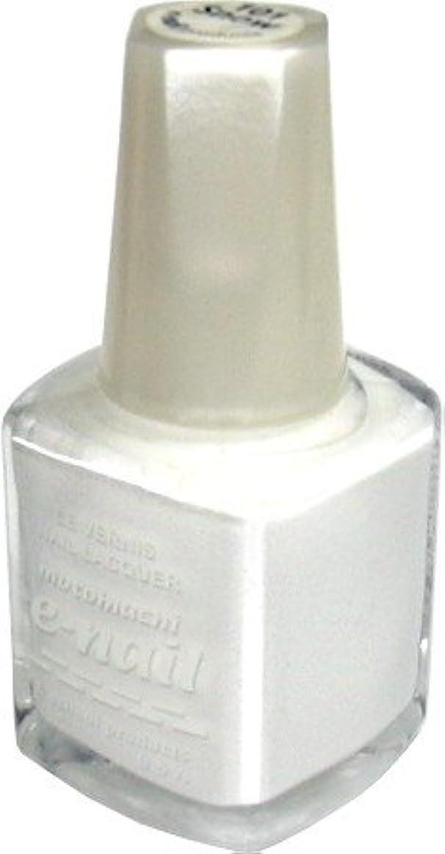冗談で透けて見える鋸歯状e-nail ネイルラッカー #101 SNOW