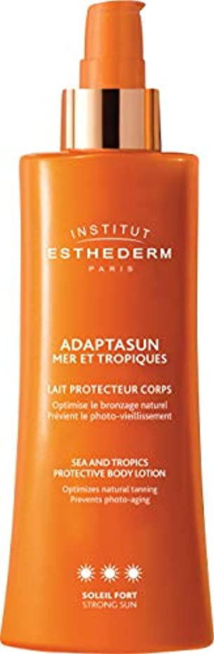 テクスチャー過去の配列Institut Esthederm Protective Body Lotion Strong Sun 200ml