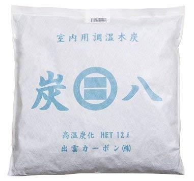 出雲カーボン 炭八 室内用 4袋セット (スマート小袋 1袋セット)