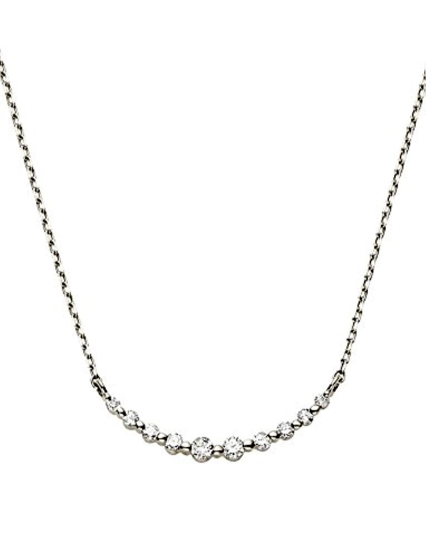 [ヴァンドーム青山] VENDOME AOYAMA K10WG ダイヤモンド リュール ネックレス AJBN136340DI