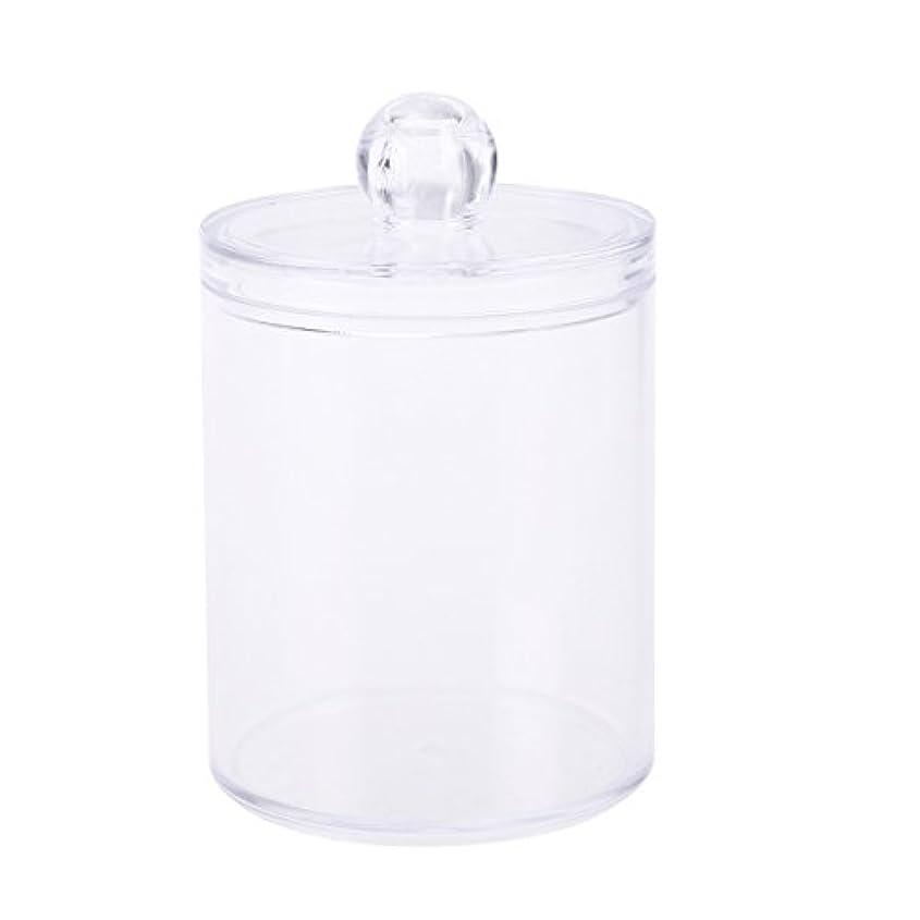 確立なぞらえるスポーツの試合を担当している人WINOMO 綿棒ケース 綿棒ボックス コスメボックス プラスチック コットン フタ付き パフ 小物 コスメ ジュエリー アクセサリー 収納 防塵(透明)