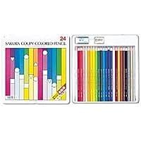 (業務用セット) サクラ クーピー色鉛筆スタンダード 24色 1セット(24本) 〔×5セット〕