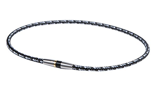 ファイテン(phiten) ネックレス RAKUWA ネックX50 ハイエンドIII ブラック 50cm