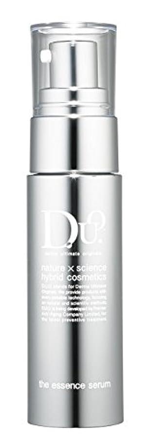 可塑性シチリア現実にはD.U.O. ザ エッセンスセラム 30ml【高純度パワー美容液】ダマスクローズの香り エイジングケア 毛穴ケア 透明感のある肌に