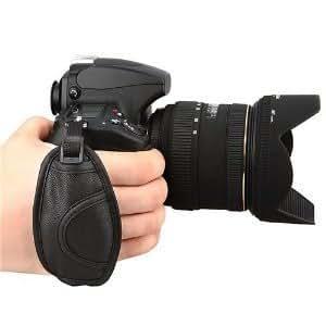 【City Lights Store】ハンドストラップ グリップストラップ カメラグリップベルト手首固定で手ブレに対応!Canon/Nikon/Pentax/Sony/Panasonic一眼レフカメラ用