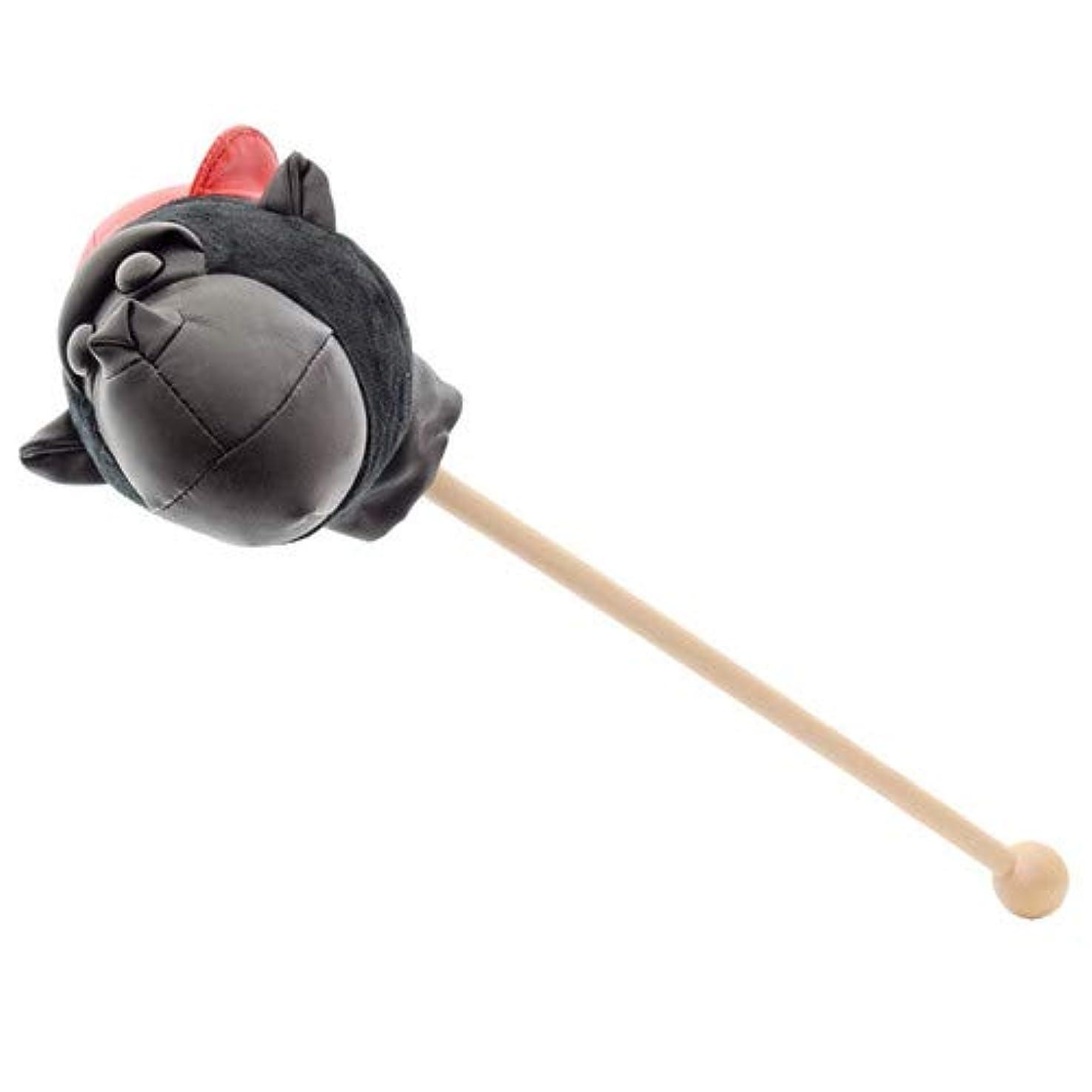 バックグラウンド掘る葡萄ゴリラ 肩たたき棒 (ブラック)