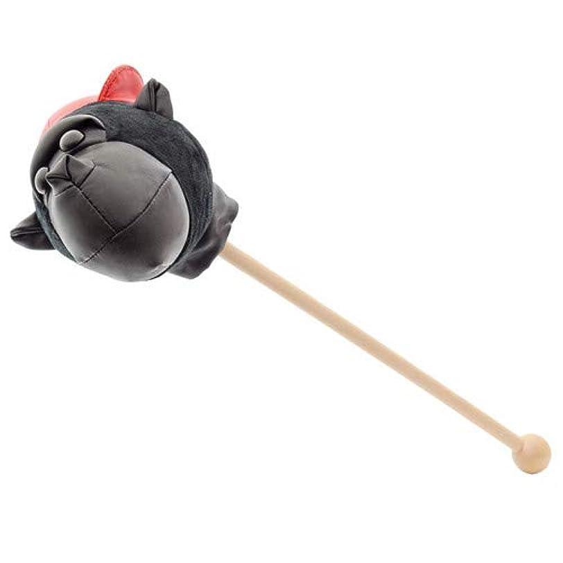 テニス固有の予見するゴリラ 肩たたき棒 (ブラック)