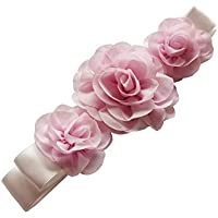 Girls Belt Wedding Floral Sash Baby Showers Belts